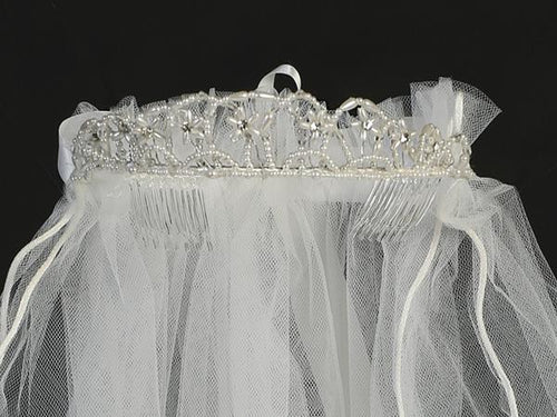 Communion Tiara & Veil Lito T-67