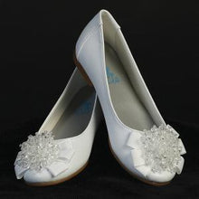 Load image into Gallery viewer, Communion White Dress Shoe Liot style Anna