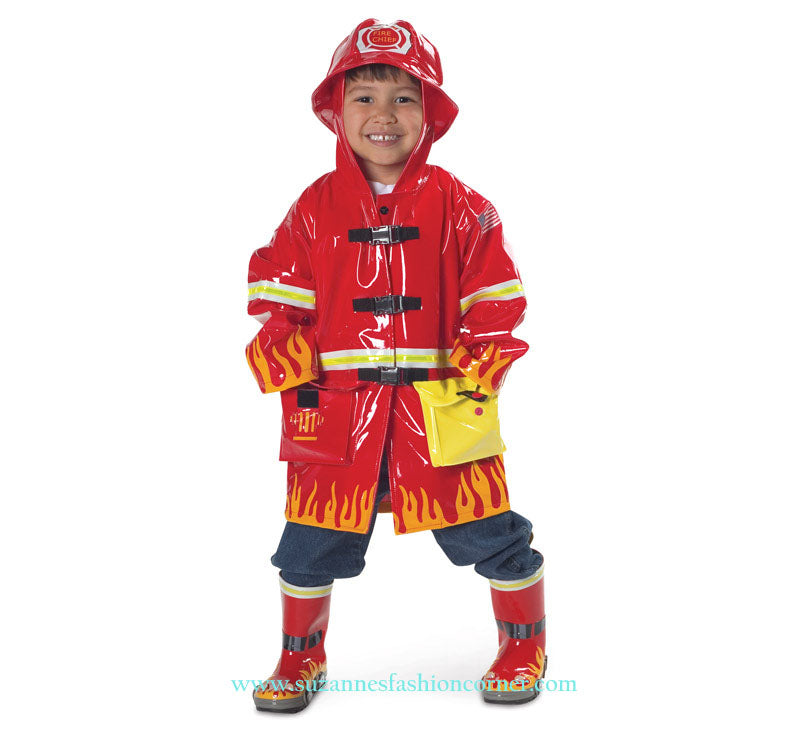 Kidorable Fireman Rain Coat