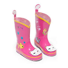 Kidorable Lucky Cat Rain Boots