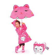 Load image into Gallery viewer, Kidorable Lucky Cat Raincoat