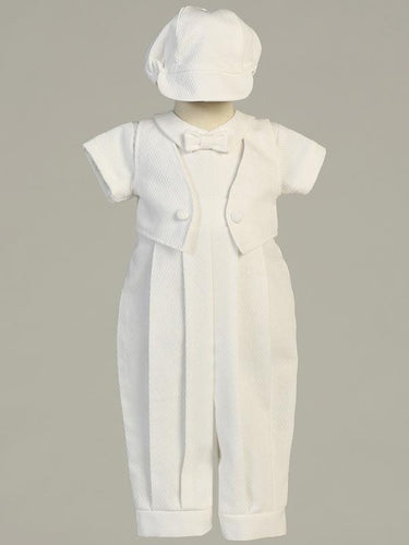 Lito Boys Cotton Christening Outfit 2pc Set style Benjamin