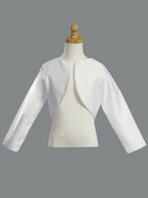 Long Sleeve Satin Bolero by Lito