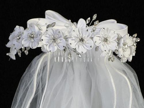 Lito Communion Crown & Veil T-460