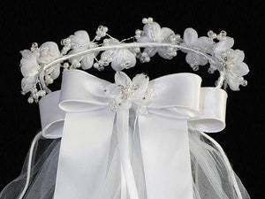 Lito Communion Crown & Veil T-463