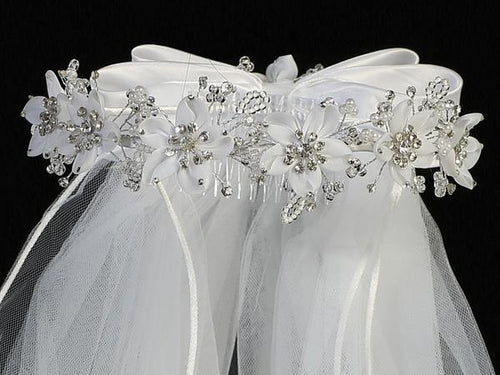 Lito Communion Crown & Veil T-466