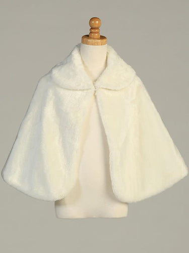 Girls Fur Cape