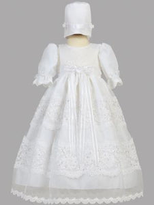 Swea' Pea & Lilli Pauline Christening Gown Hat