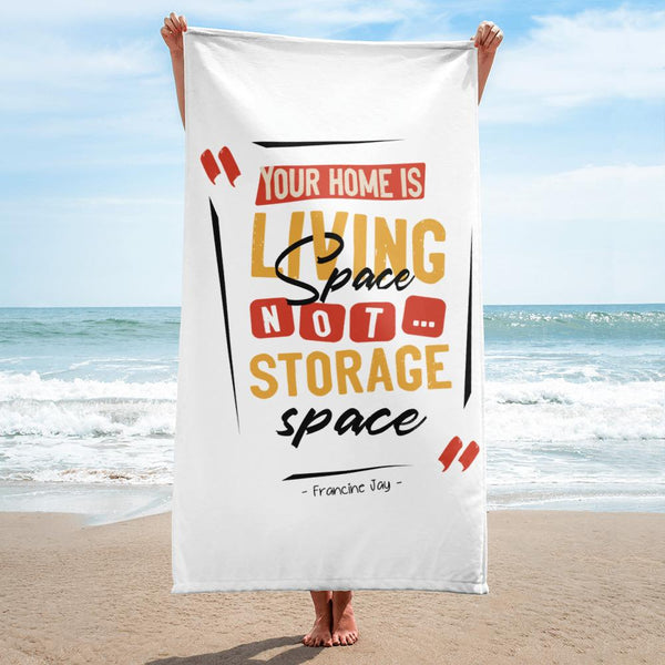 Printful beach towel
