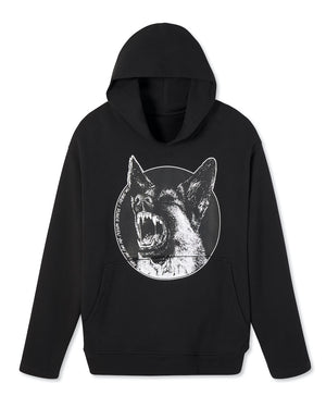 Open image in slideshow, 'DON'T FLINCH' HOODED SWEATSHIRT
