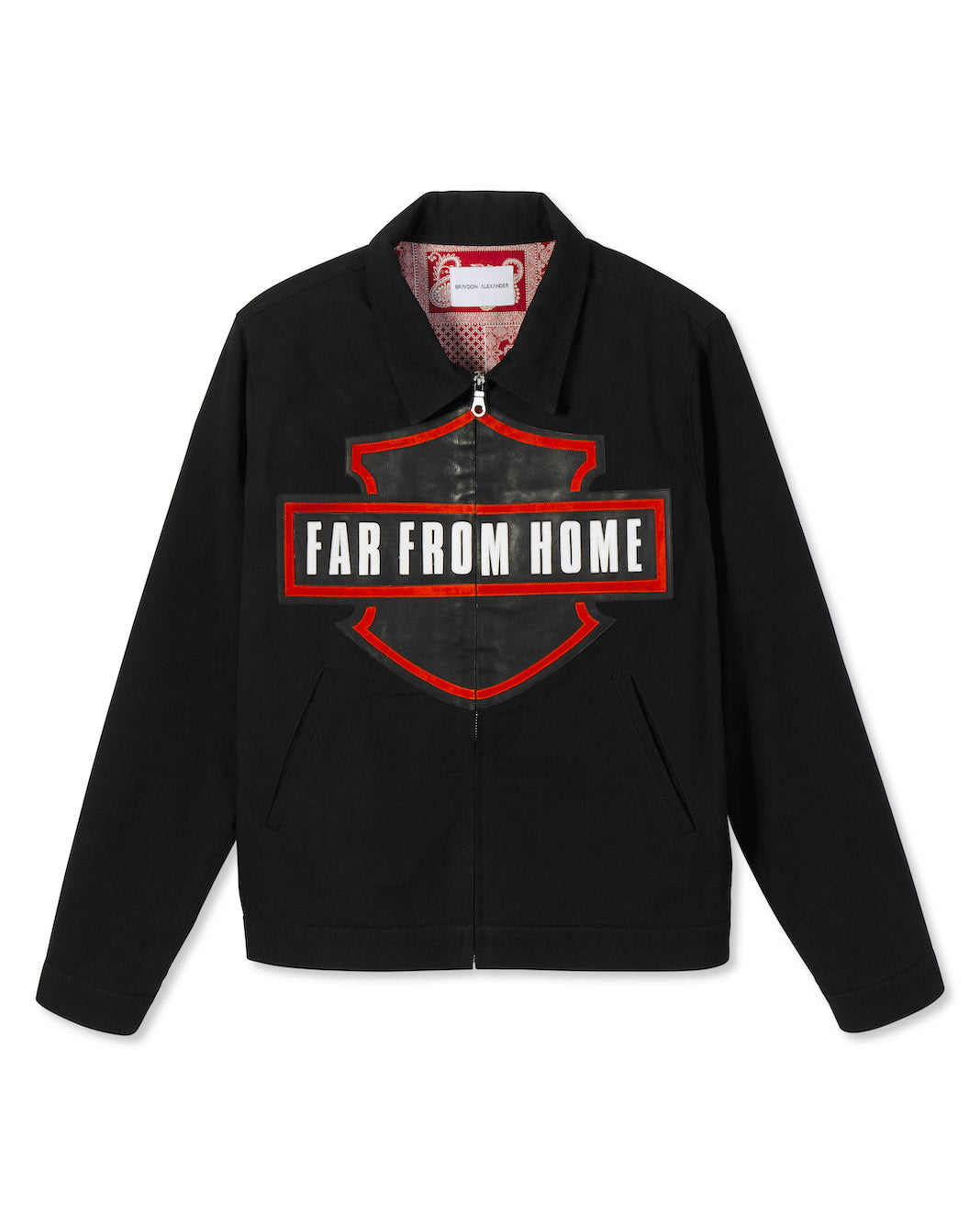 'FAR FROM HOME' TWILL JACKET