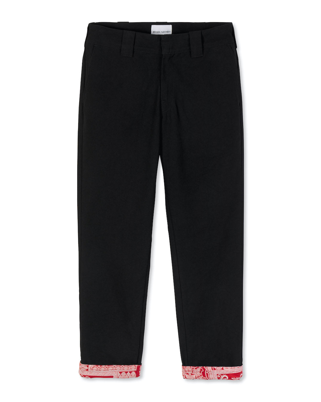 'GONE BABY GONE' TWILL PANTS