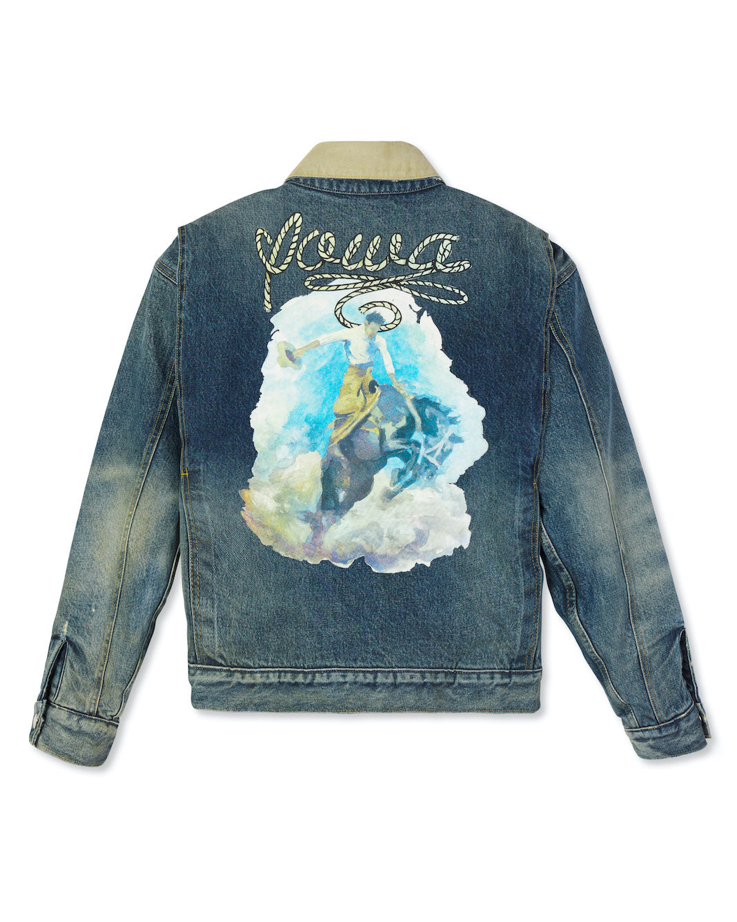 'IOWA' Painted Jacket