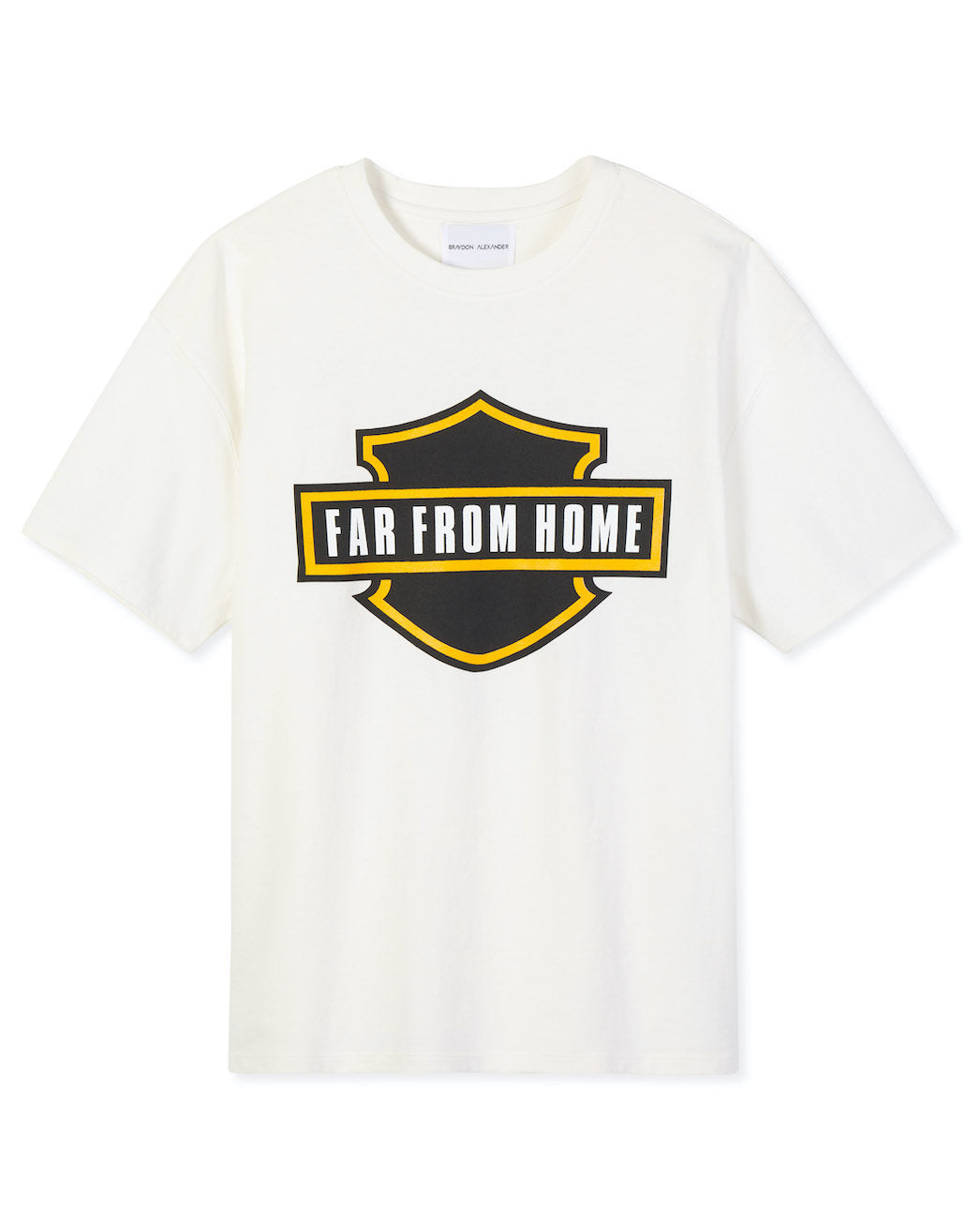 'FAR FROM HOME' GRAPHIC TEE