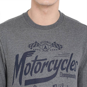 Highway Motorcycle Vintage Sweatshirts GlowRoad 2XL