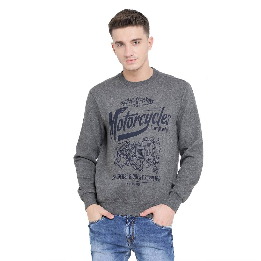 Highway Motorcycle Vintage Sweatshirts GlowRoad M
