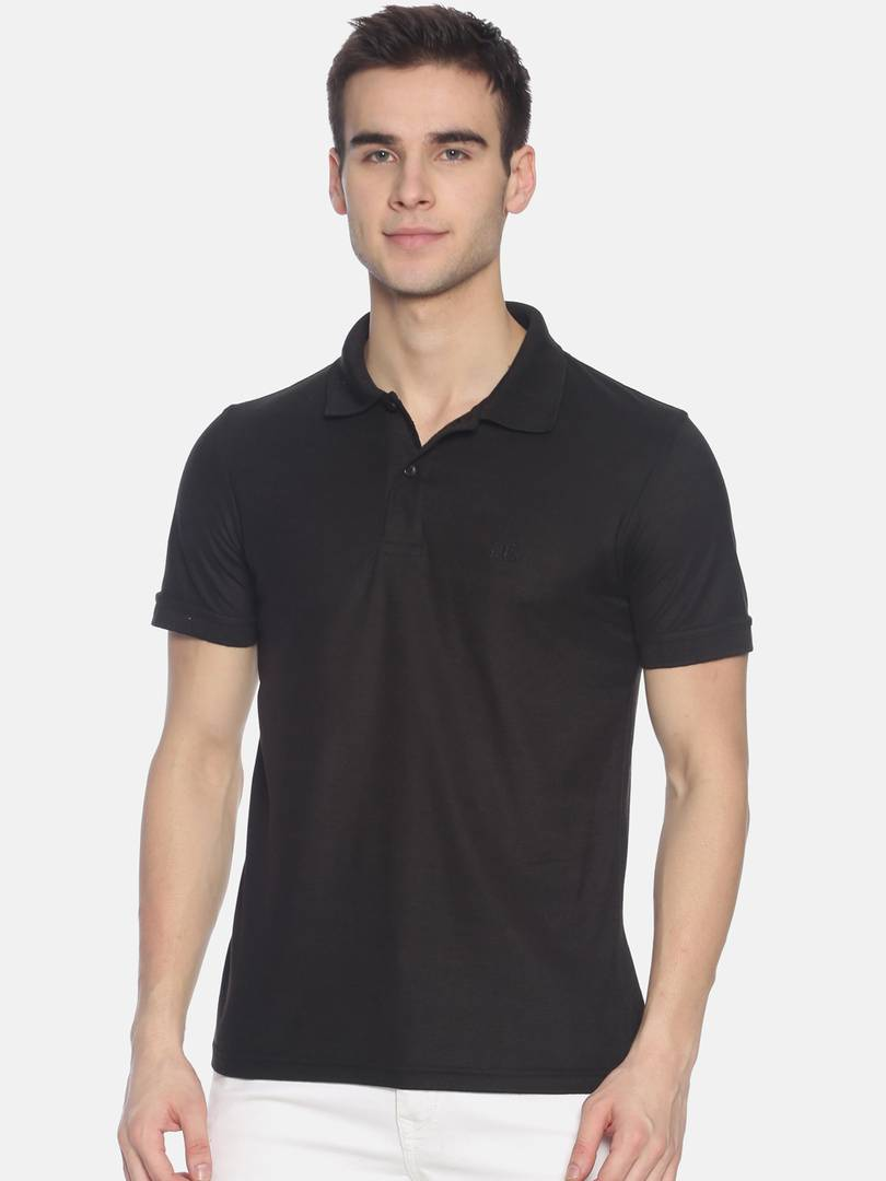 Black DG Exquisite - Polo Polos GlowRoad M