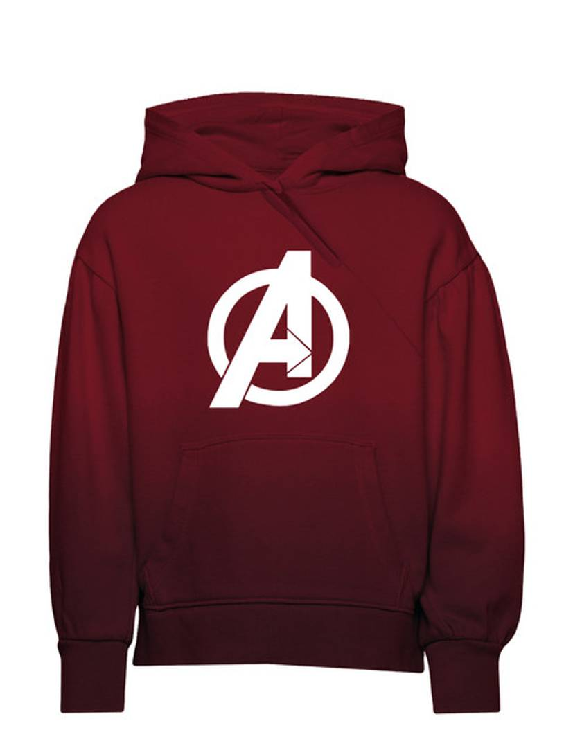 Unisex Supreme Soft Avenger Printed Kids Hoodies GlowRoad