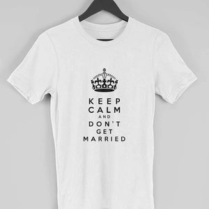 Keep Calm Clothing Printrove White S
