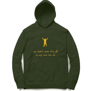 Come this far! Clothing Printrove Olive Green S