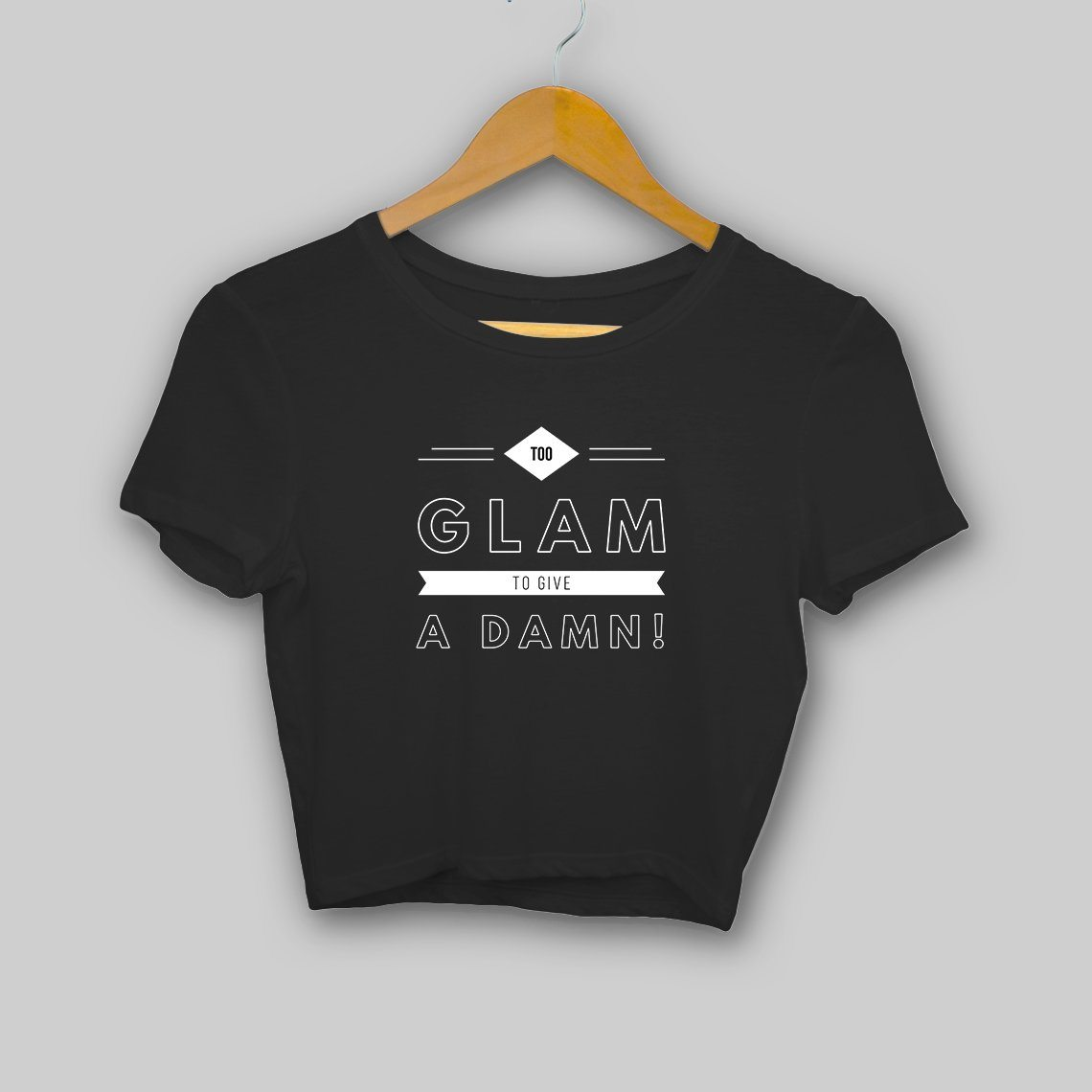 Too Glam! Clothing Printrove Black S