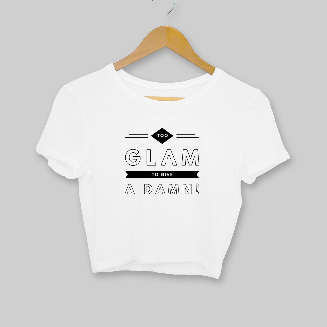 Too Glam! Clothing Printrove White S