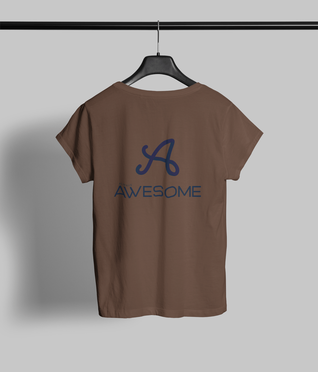 Always Awesome 2 Clothing Printrove Coffee Brown 6