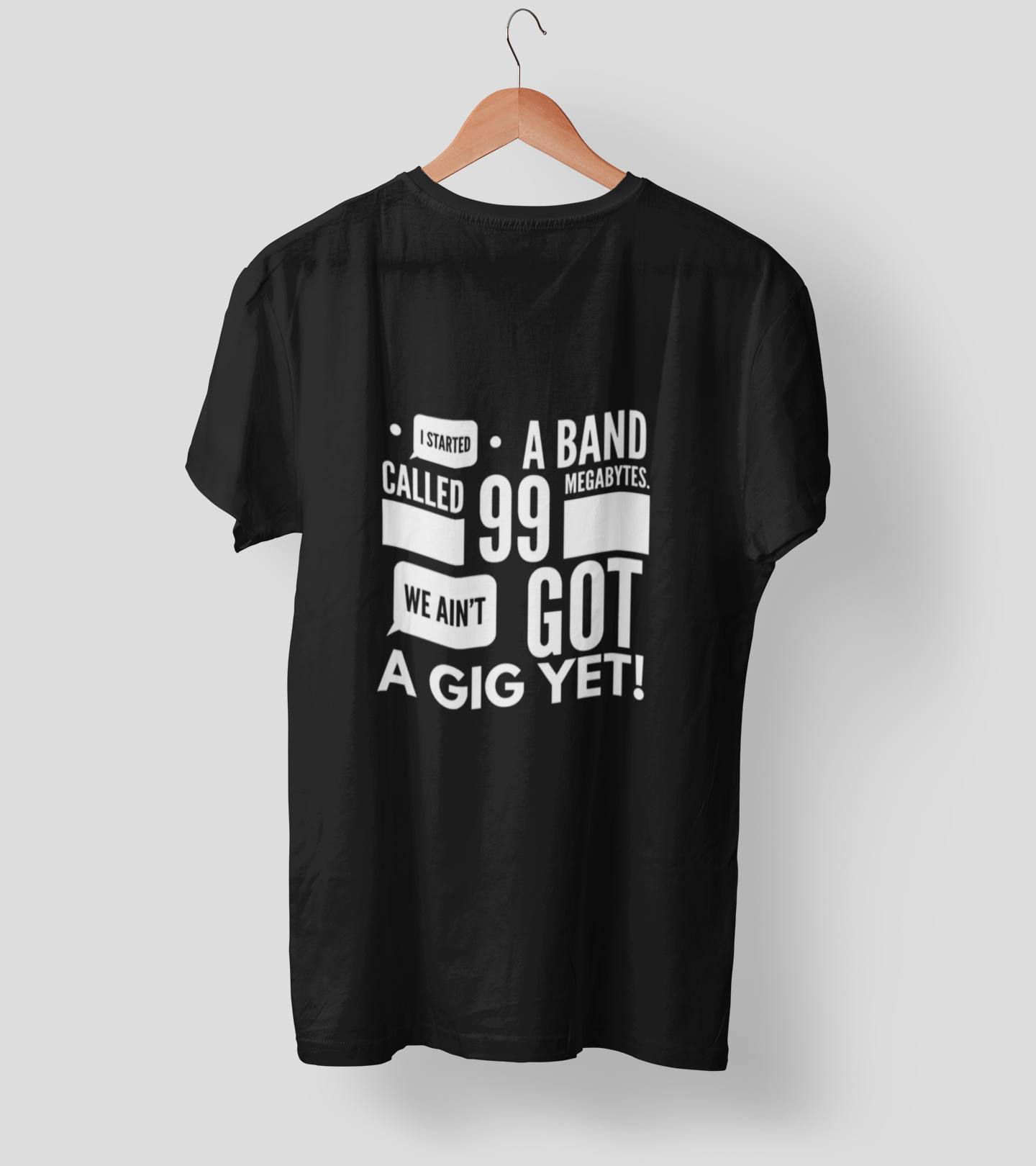 Aint got gig yet 2.0 Clothing Printrove Black S