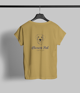 Closest Pal Clothing Printrove Mustard Yellow 1