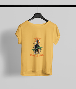 Time to Chill Clothing Printrove Golden Yellow XS