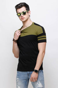 Olive Sleeks 1.0 Men's T-shirts Flipkart XXL