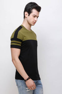 Olive Sleeks 1.0 Men's T-shirts Flipkart L