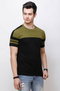 Olive Sleeks 1.0 Men's T-shirts Flipkart XL