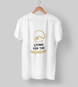 Living for the moment! Clothing Printrove White S