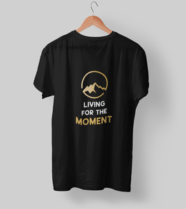 Living for the moment! Clothing Printrove Black S