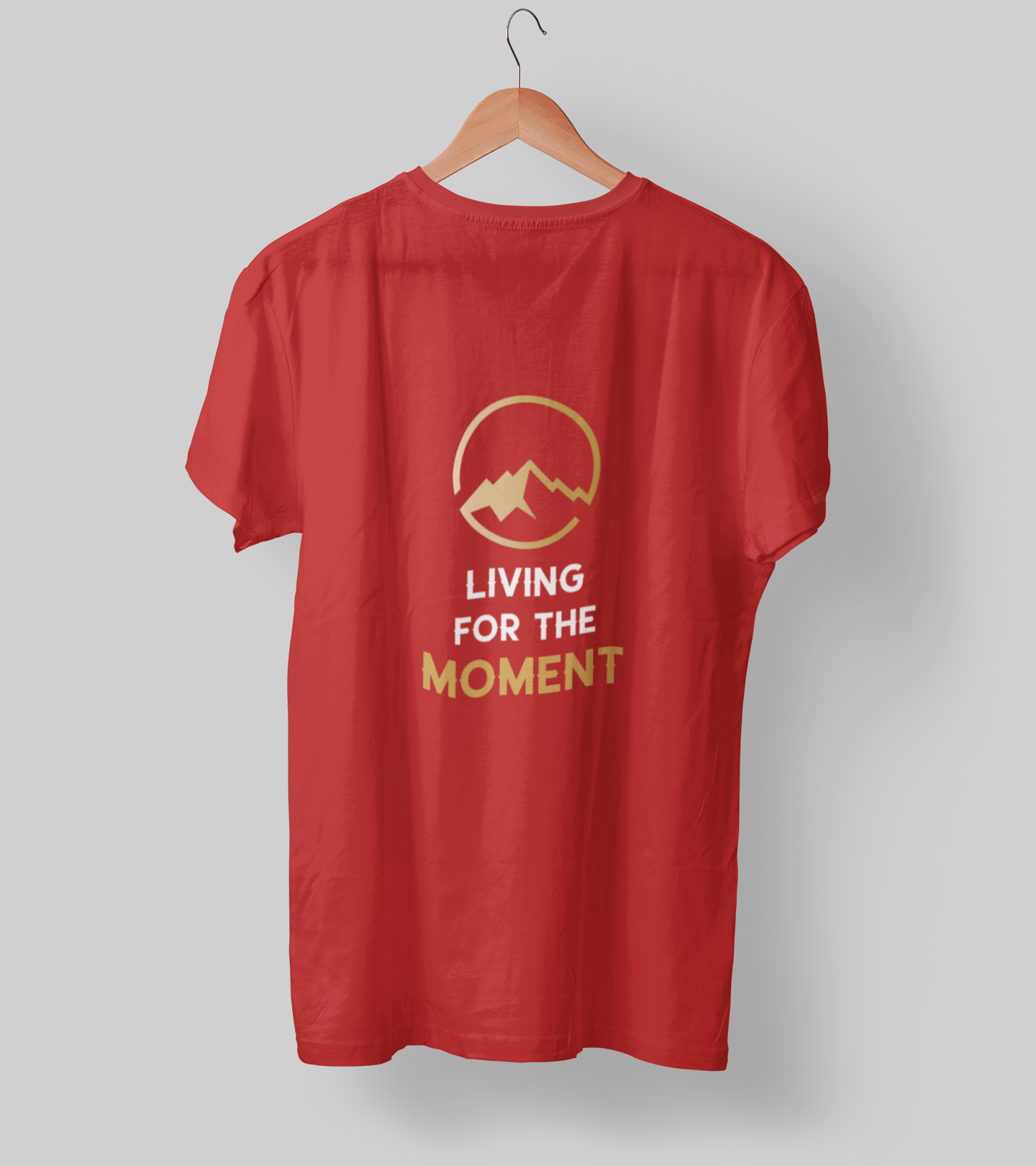 Living for the moment! Clothing Printrove Red S