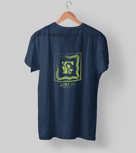 Lost in Music Clothing Printrove Navy Blue S