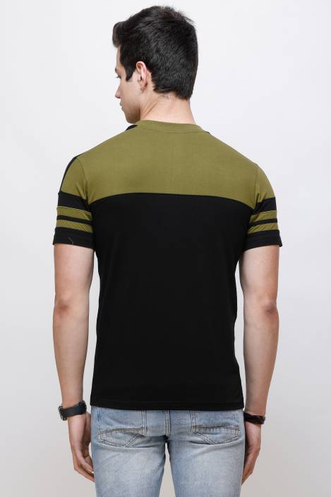Olive Sleeks 1.0 Men's T-shirts Flipkart M