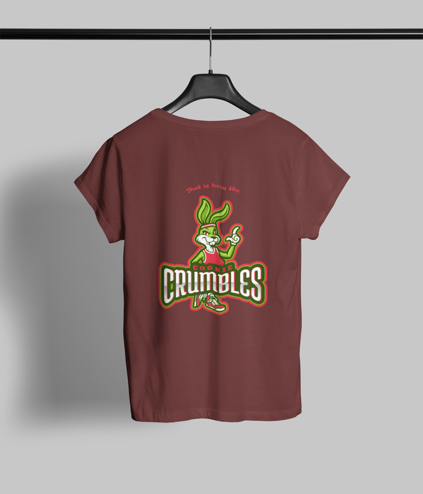 Cookie Crumbles Clothing Printrove Maroon 1