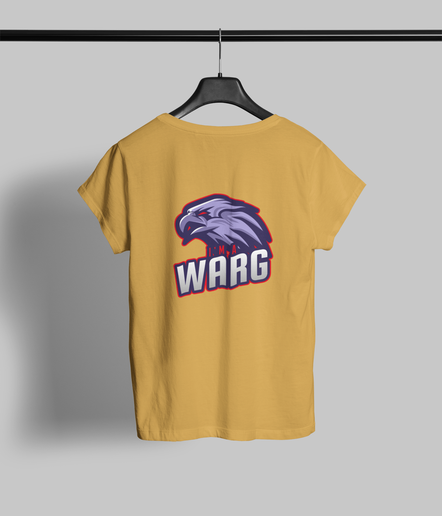 Warg Clothing Printrove Mustard Yellow 6