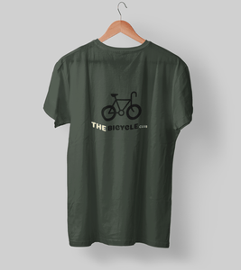 Bicycle Club Clothing Printrove Olive Green S