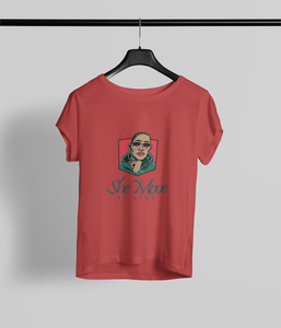 She Move it like! Clothing Printrove Red XS