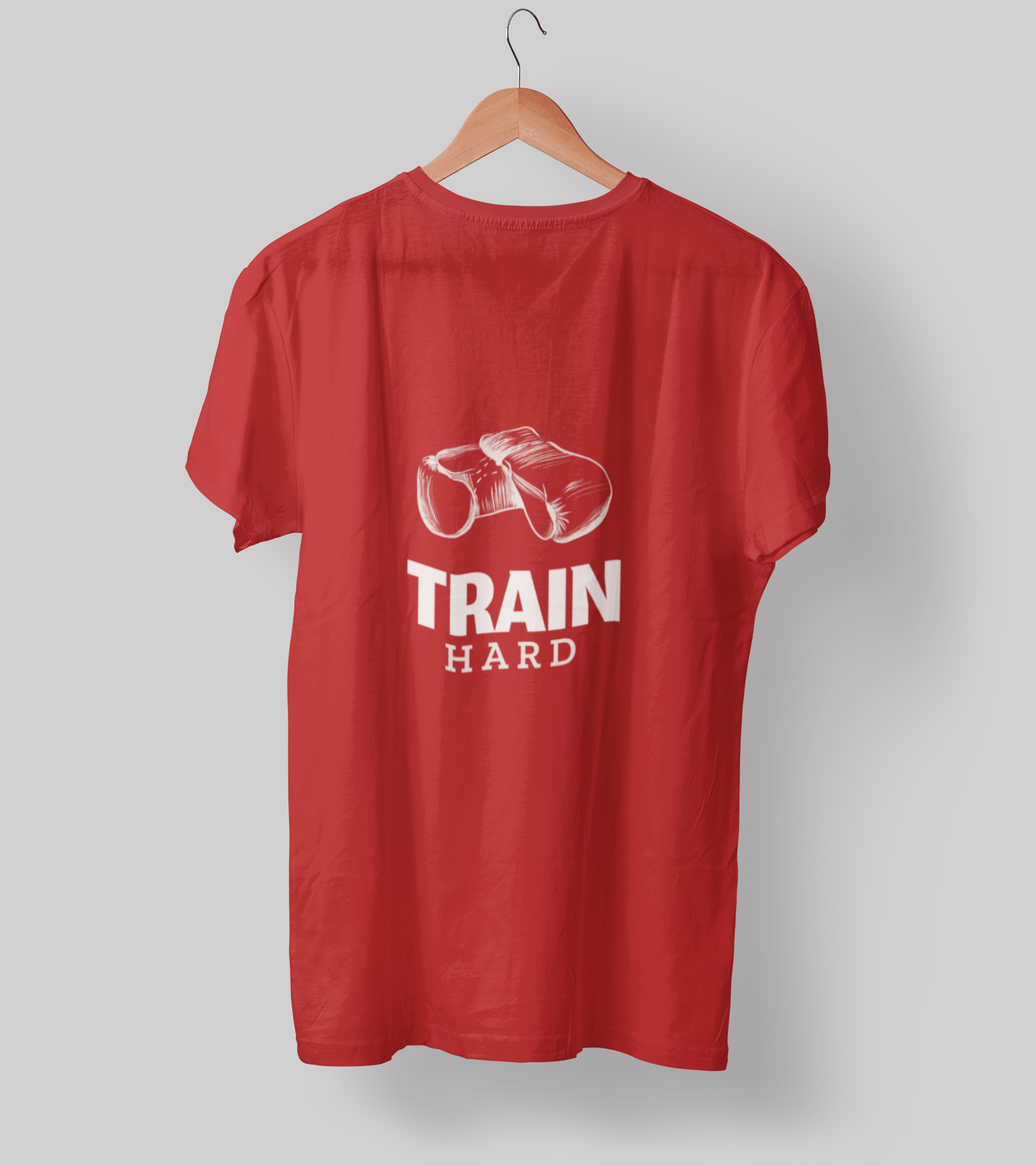 Train Hard Clothing Printrove Red S