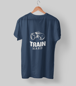 Train Hard Clothing Printrove Navy Blue S