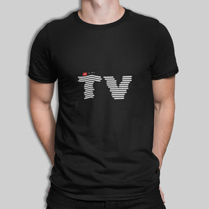 Youtube is my TV Clothing Printrove Black M