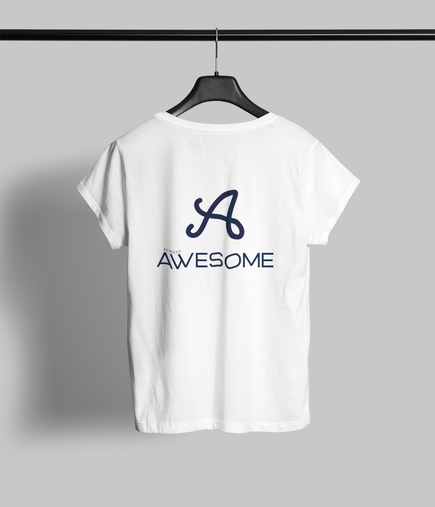 Always Awesome Clothing Printrove White 1