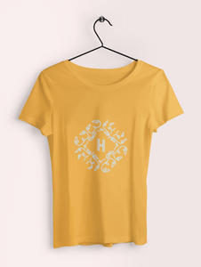 Letter H Clothing Printrove Golden Yellow XS