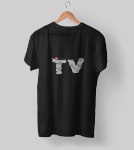 Youtube is my TV Clothing Printrove Black S