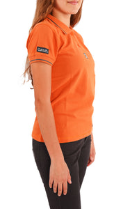 Polo short sleeves, for girls
