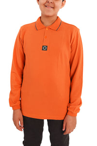 Polo long sleeves, unisex